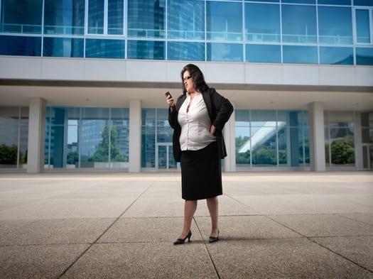 profesiones que engordan oficinista