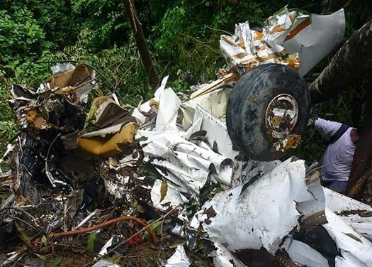 Se encontraron 3 personas muertas como resultado de un accidente en un avión con destino a las Cataratas