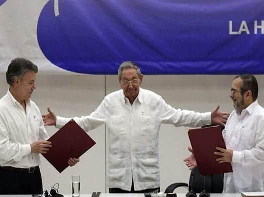 presin por la paz desde toronto mientras acuerdan dialogo entre gobierno colombiano y el ELN