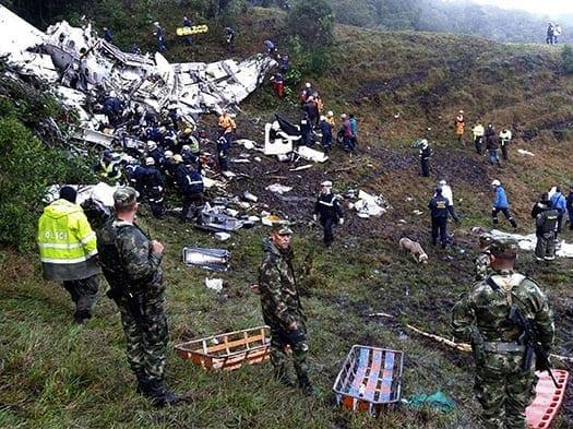 el sueno de chapecoense acaba en tragedia en colombia con 75 muertos y seis heridos