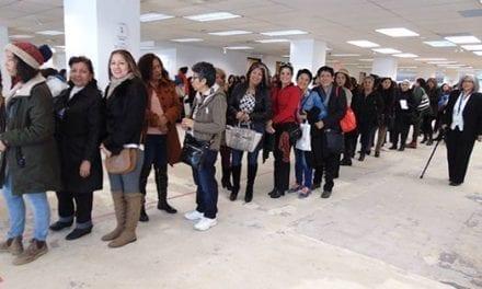 Masiva participación en Toronto durante las elecciones generales en Ecuador