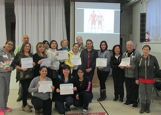 Seniors de Toronto concluyeron programa de actualización de conocimientos y experiencias