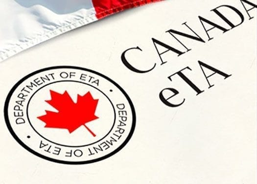 La eTA no es una autorización para trabajar en Canadá