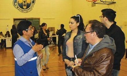Ecuatorianos en Toronto votaron por de Lenín Moreno, del Partido Alianza País, para presidente