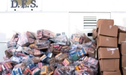Capturan a tres hispanos por traer a Canadá una tonelada de cocaína desde Argentina