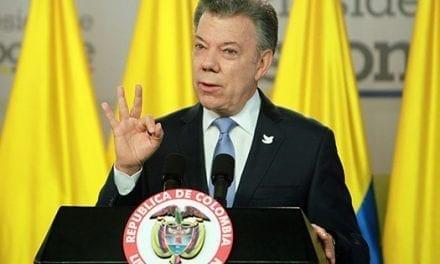 Santos dice que Colombia puede perder miles de hectáreas por el cambio climático