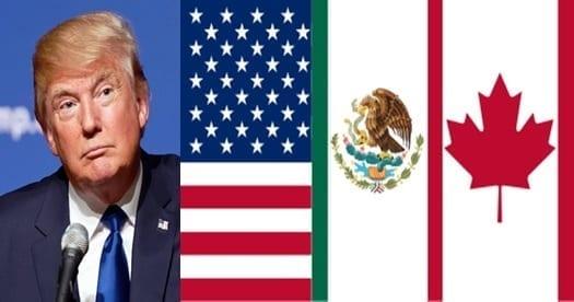Requerimientos de Trump hacen difícil lograr un acuerdo inmediato en el NAFTA