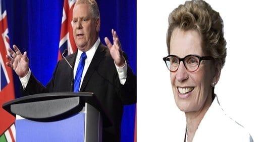 Liberales y conservadores pugnan por el poder de Ontario