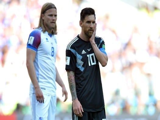 (ESPECIAL RUSIA 2018) Argentina no pudo con Islandia y empató