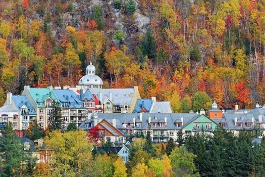 5 lugares para visitar en otoño en Canadá