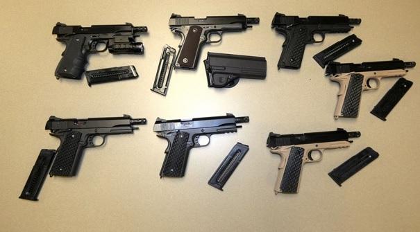 Detenidos dos individuos que fabricaban ilegalmente armas de fuego en el GTA