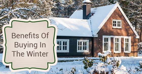 Razones para iniciar la búsqueda de su casa en el invierno