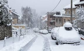 LOS RETOS DE LA TERCERA EDAD:  Un invierno de pesadilla