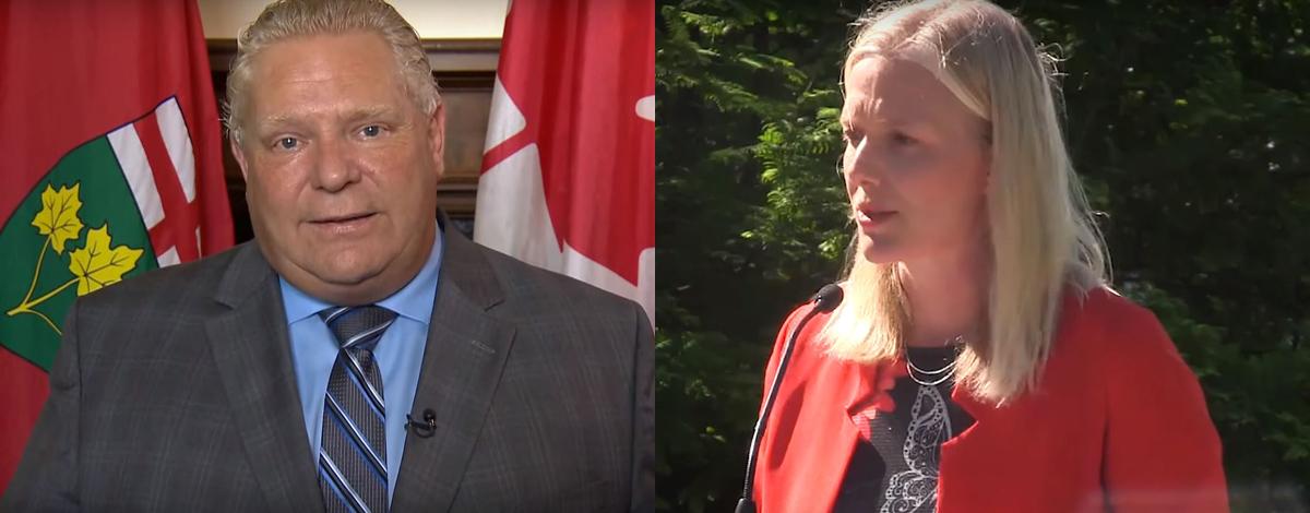Ministra federal de medio ambiente y el premier de Ontario intercambian opiniones sobre la controversial carbon tax