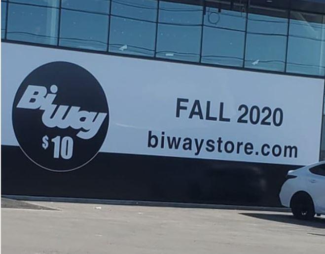 BiWay volverá a abrir en Canadá este otoño