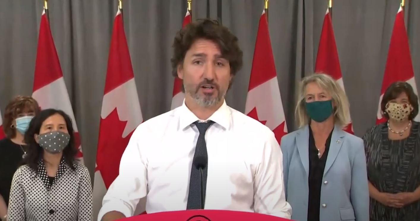 Trudeau anuncia planes para la finalización del CERB y la transición al EI